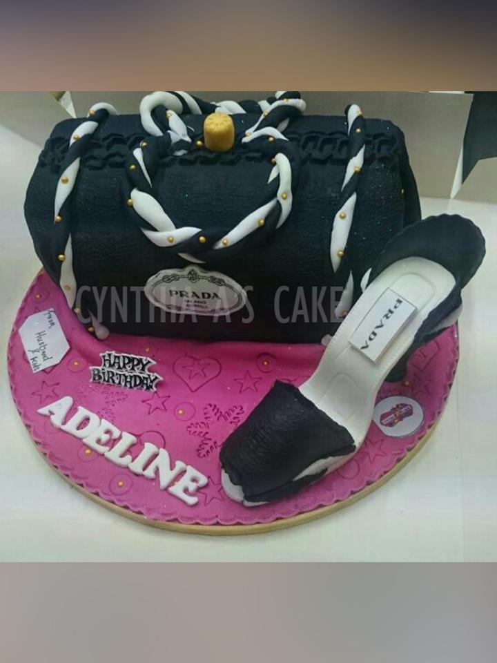 Shoes And Handbags Cynthia As Cake Cakes Cake Makers Birthday